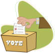 hand voting Wordpress Beats Out Typepad 4 to 1 in Poll