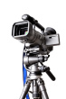 camcorder on a professional tripod Why Content Marketing with Video Is Key