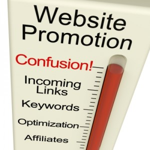 WebsiteConfusion 300x300 My Business Website: Content for Customers...   or SEO?