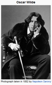 OscarWilde 182x300 Oscar Wilde: Advice on Better Blogging