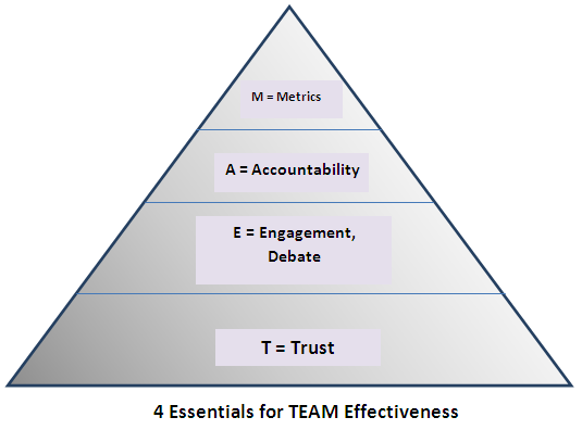 what is team effectiveness Learn about the skills that are most useful in helping you to work effectively as part of a team, and how this fits with belbin's team roles.