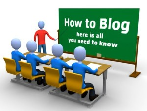 How to Blog 300x227 Common Mistakes Made by Beginning Bloggers <br>  ...and 5 Tips to Fix Them