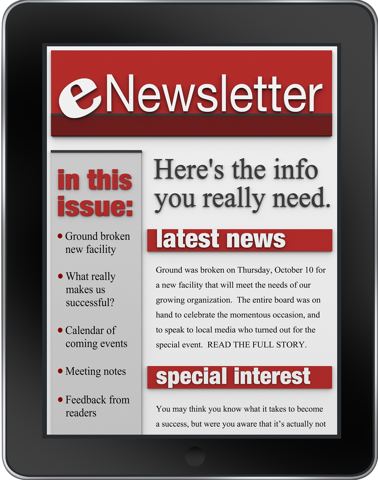 Enews crop E Newsletter Review: Is There Something Wrong?